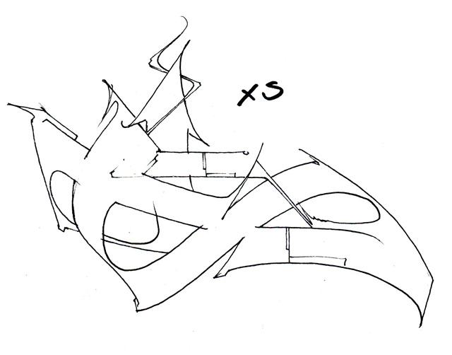 Sketch de la lettre S