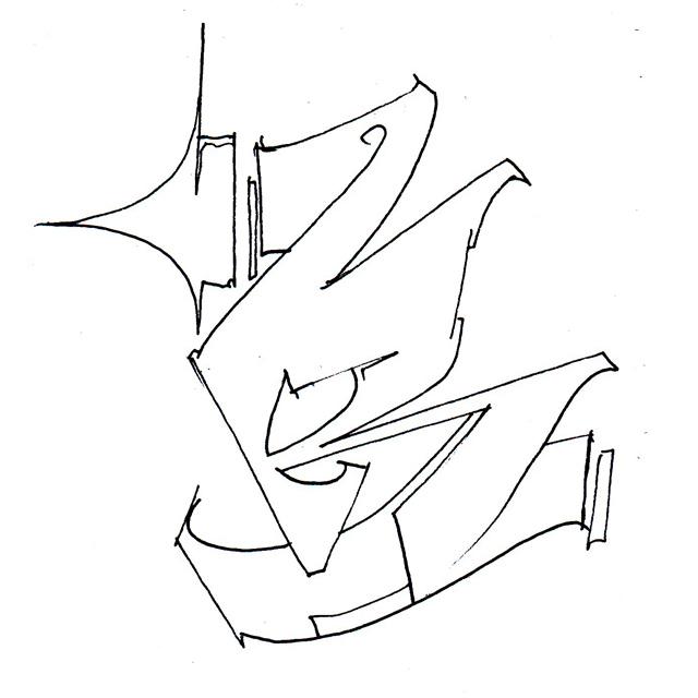 Wild R by socrome graffiti