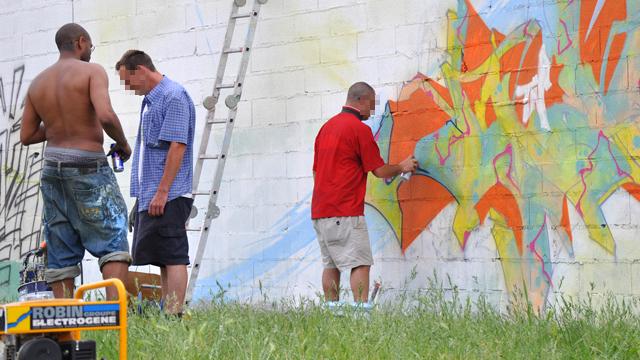 Graffeurs de paris et Toulouse