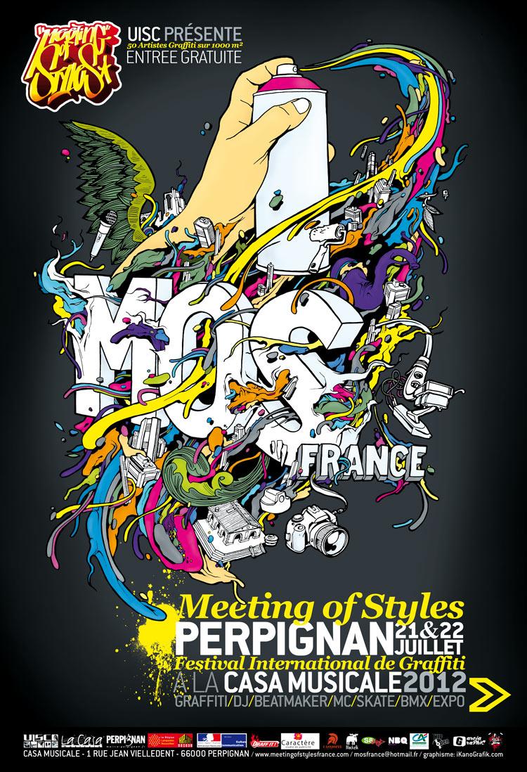 Affiche du MOS 2012