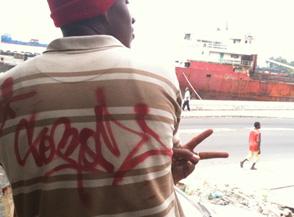 Socrome, graffeur des Comores